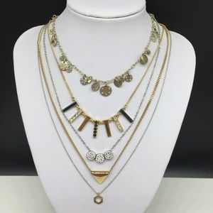 Layering Necklace Lot ~ JCREW Ann Taylor Loft